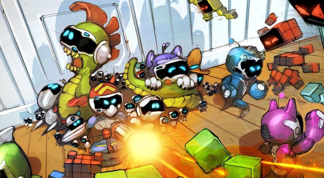 """Das neue Spiel """"Spielzeug-Krieg"""" stößt heute zu The Playroom VR hinzu, und zwar kostenlos"""