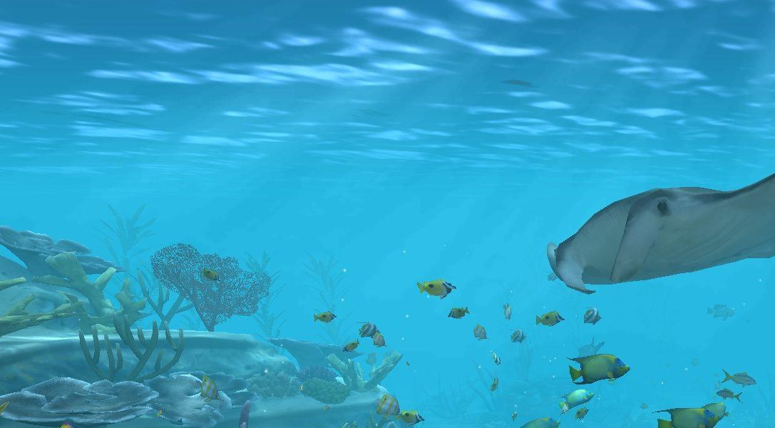 Verwandelt eure PS4 und euren Fernseher in ein Aquarium, das eines Superschurken würdig wäre – mit Aqua TV