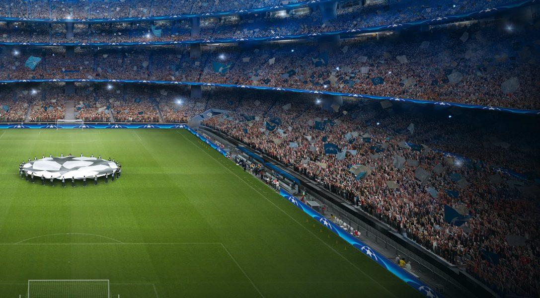 Tretet PlayStation F.C. bei und erhaltet die Chance auf zwei Tickets für das Finale der UEFA Champions League 2018 in Kiew