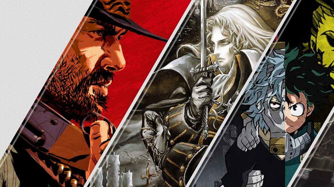 Diese Woche neu im PlayStation Store: Red Dead Redemption 2 und Castlevania Requiem