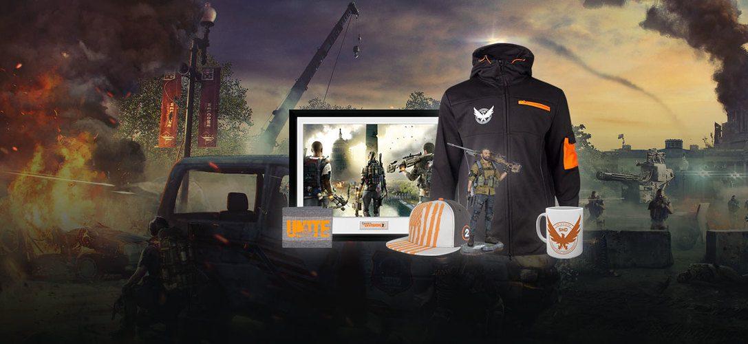 Feiert die bevorstehende Veröffentlichung von The Division 2 mit neuen Artikeln bei PS Gear