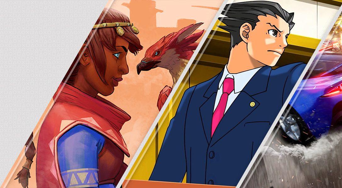 Diese Woche neu im PlayStation Store: Falcon Age, Phoenix Wright: Ace Attorney Trilogy und mehr