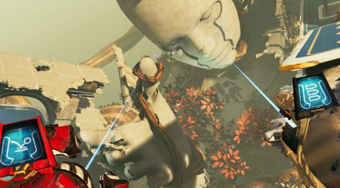 Der Schöpfer von Detached veröffentlicht diesen Monat den Sci-Fi-Gladiatorkampf-Shooter Telefrag VR