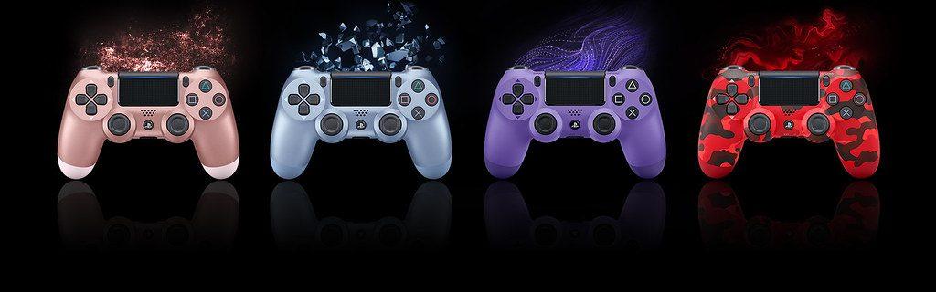 Ab Herbst erhältlich: Dualshock 4 Wireless-Controller in vier neuen Farben