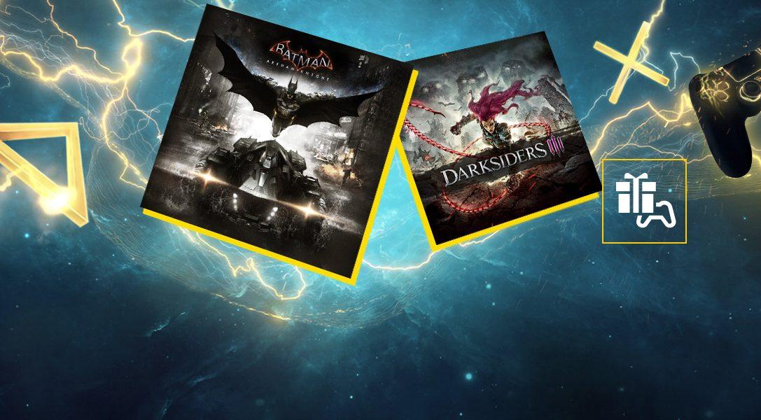Batman: Arkham Knight und Darksiders III sind die PlayStation Plus-Spiele für September