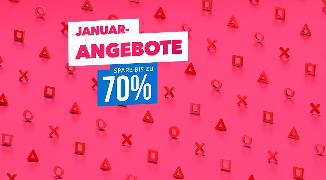 Januar-Angebote – Neue Angebote unter €30