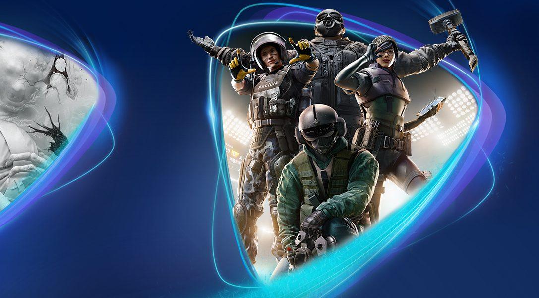 Tom Clancy's Rainbow Six Siege, The Evil Within 2, Get Even ab Mai bei PS Now verfügbar