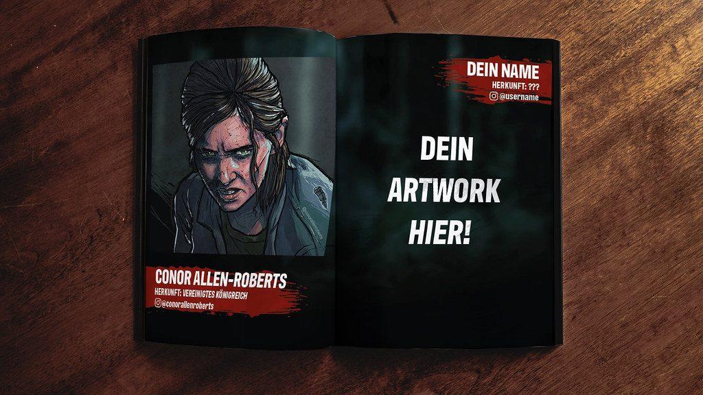 50047176321 890ee4a8eb b1 - The Last of Us Part II Artbook aus euren FanArts!