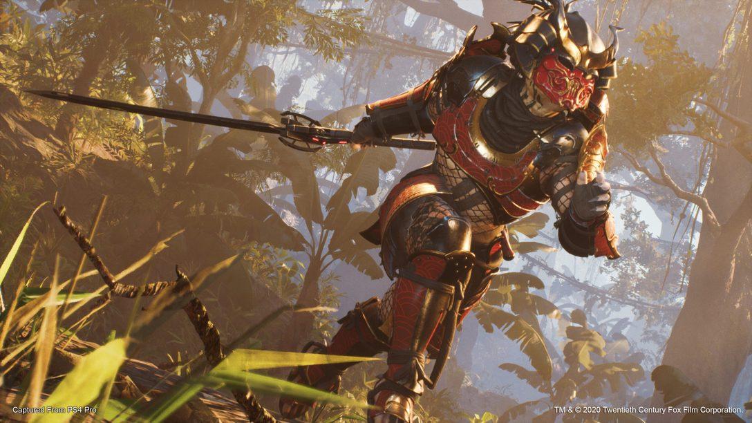 Jetzt in Predator: Hunting Grounds – der Samurai-Predator!