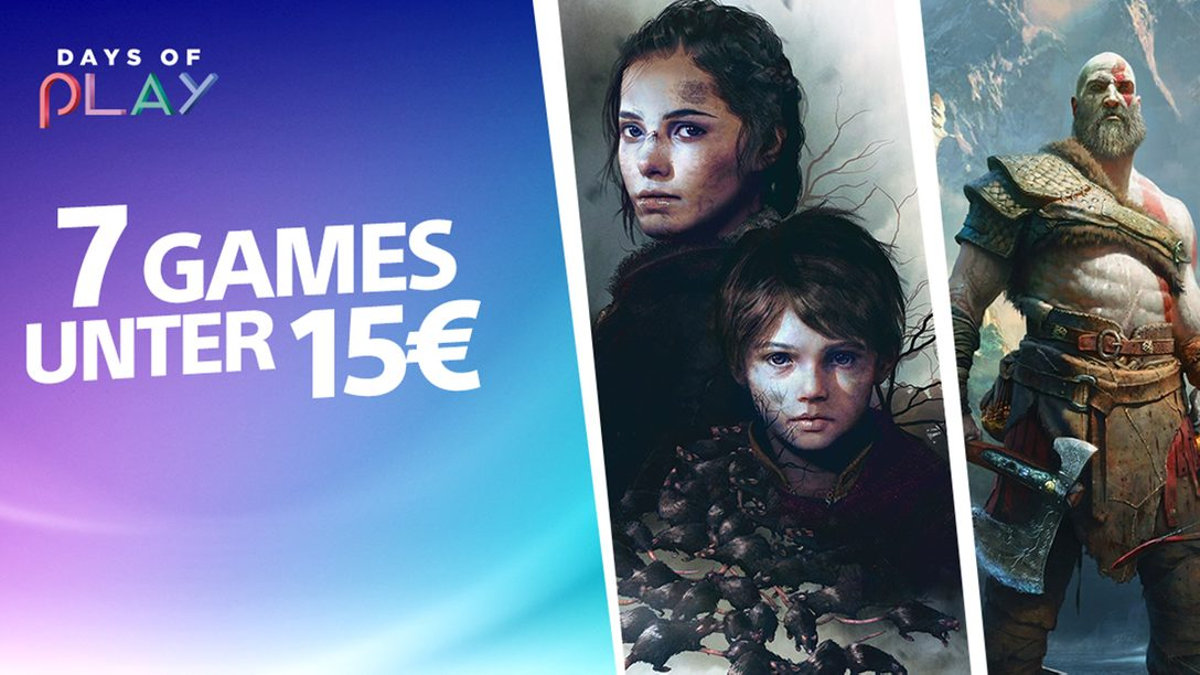 Days of Play: 7 geniale Games unter 15 Euro