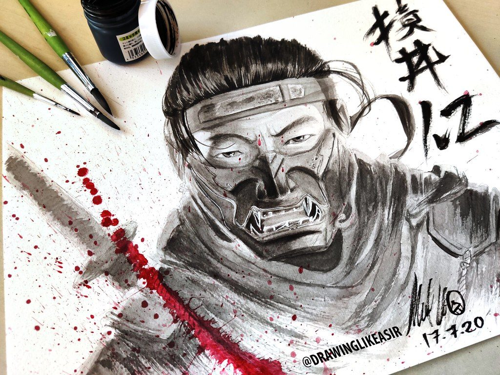 50133057827 df96dc48e8 b1 - Ghost of Tsushima: Wer gewinnt den Fan-Art-Contest?