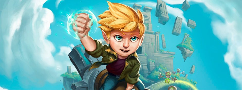 Arcade Land, el primer videojuego español adaptado para niños con parálisis cerebral, llegará próximamente a PS4