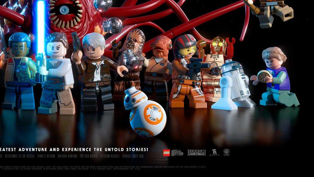 Echa un vistazo al pack de PS4 de LEGO Star Wars: El Despertar de la Fuerza