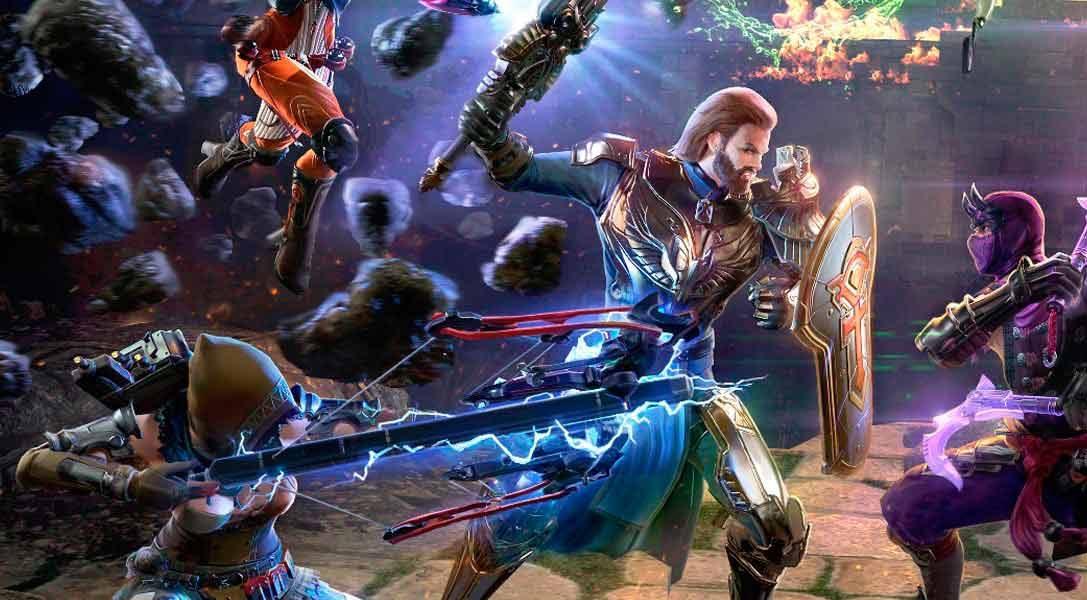 Defiende tu mundo de la invasión alienígena en el F2P MMO Skyforge: para PlayStation 4 en marzo