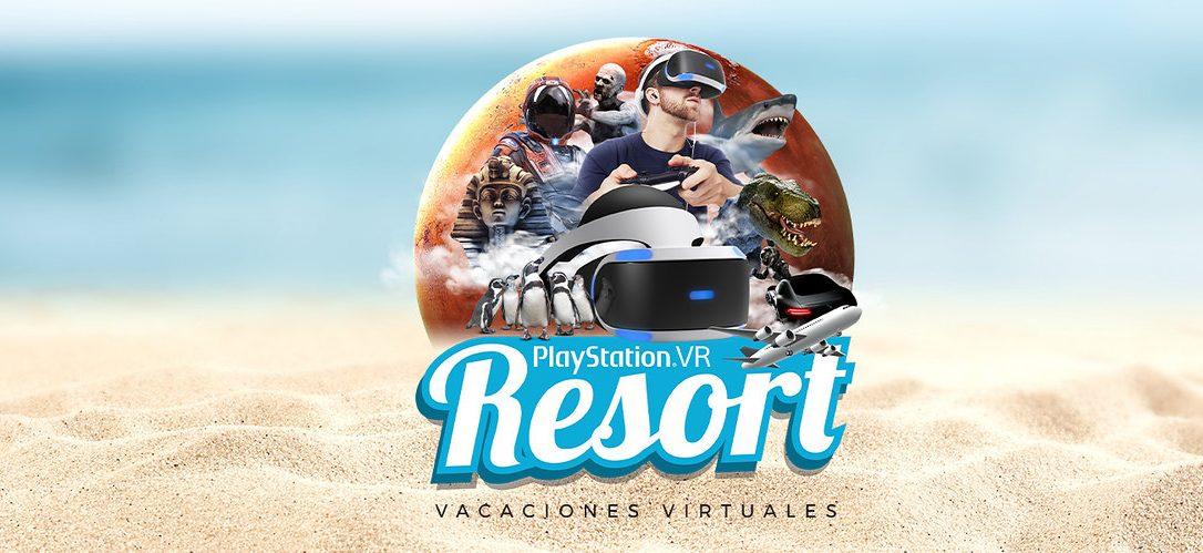 Vive una gran aventura sin salir de Madrid con PlayStation VR Resort