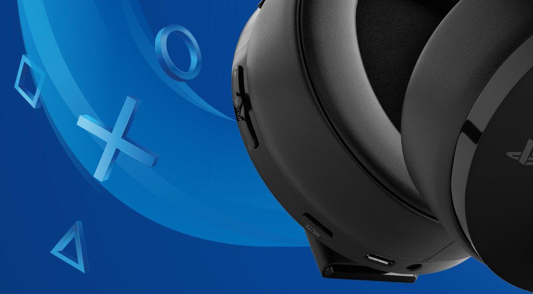 Presentamos el nuevo Gold Wireless Headset para PS4 y PS VR, pronto disponible en Europa