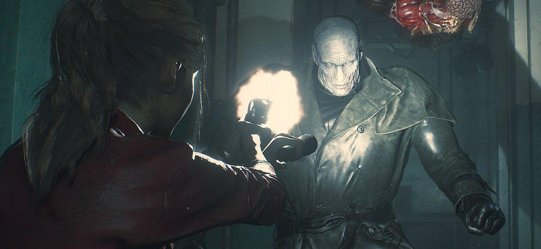Una partida con el clásico de terror Resident Evil 2 para PS4