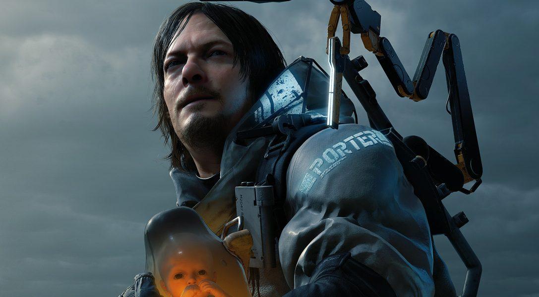 Lanzamiento de DEATH STRANDING el 8 de noviembre para PS4