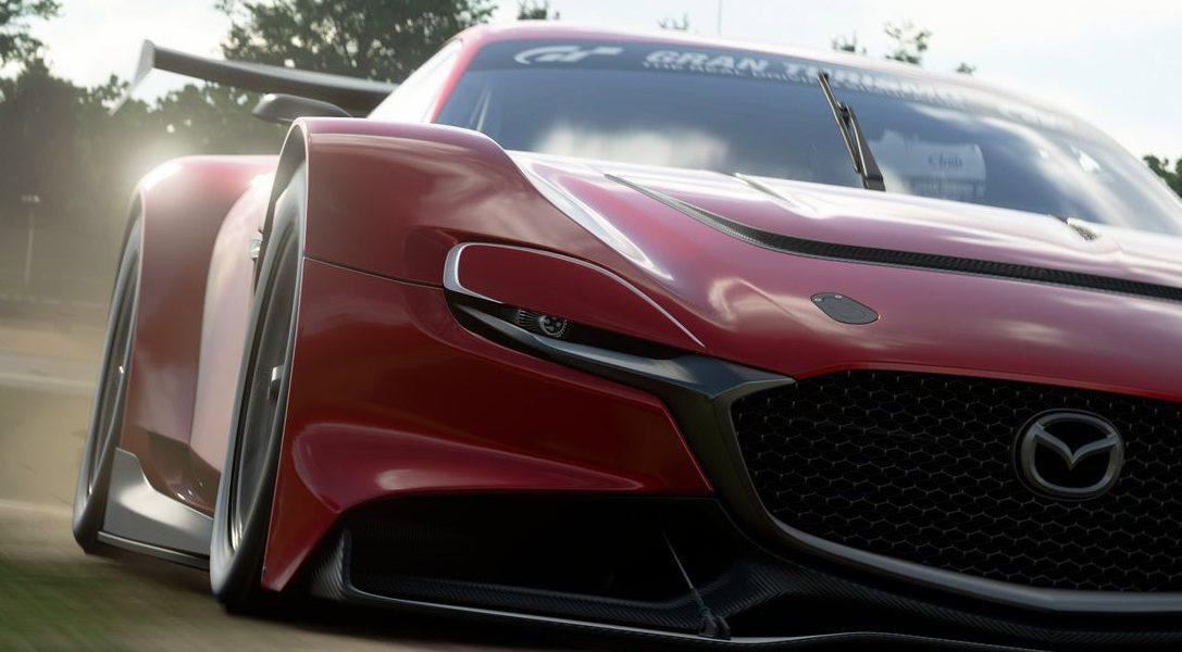 El MAZDA RX-VISION GT3 CONCEPT llega a Gran Turismo Sport mañana