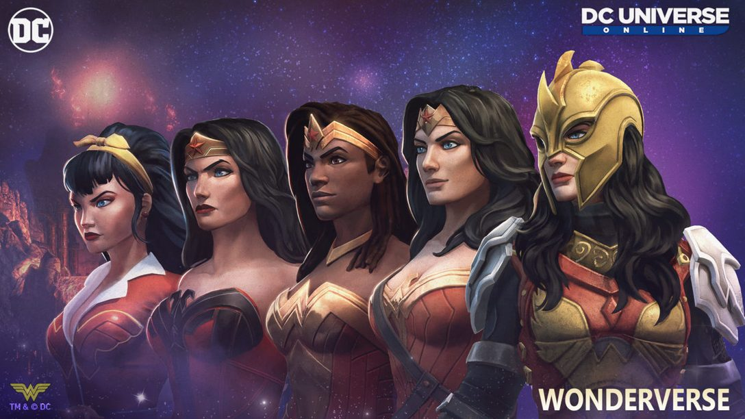 Únete al Consejo de las Wonder Woman en DC Universe Online