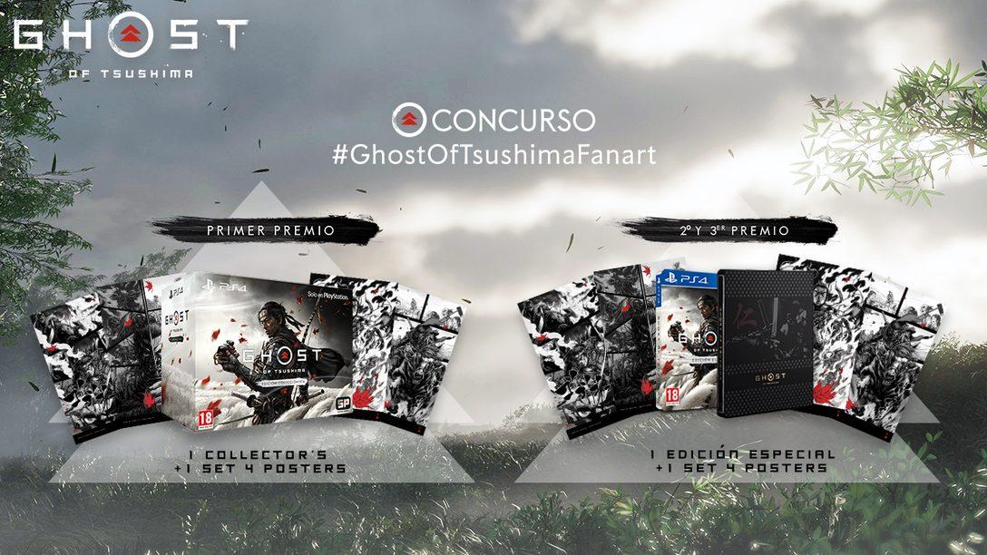 #GhostOfTsushimaFanArt | Una batalla de arte por Tsushima