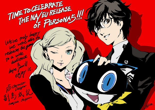 Persona 5: Un Agradecimiento Especial de Parte de Atlus a los Fans