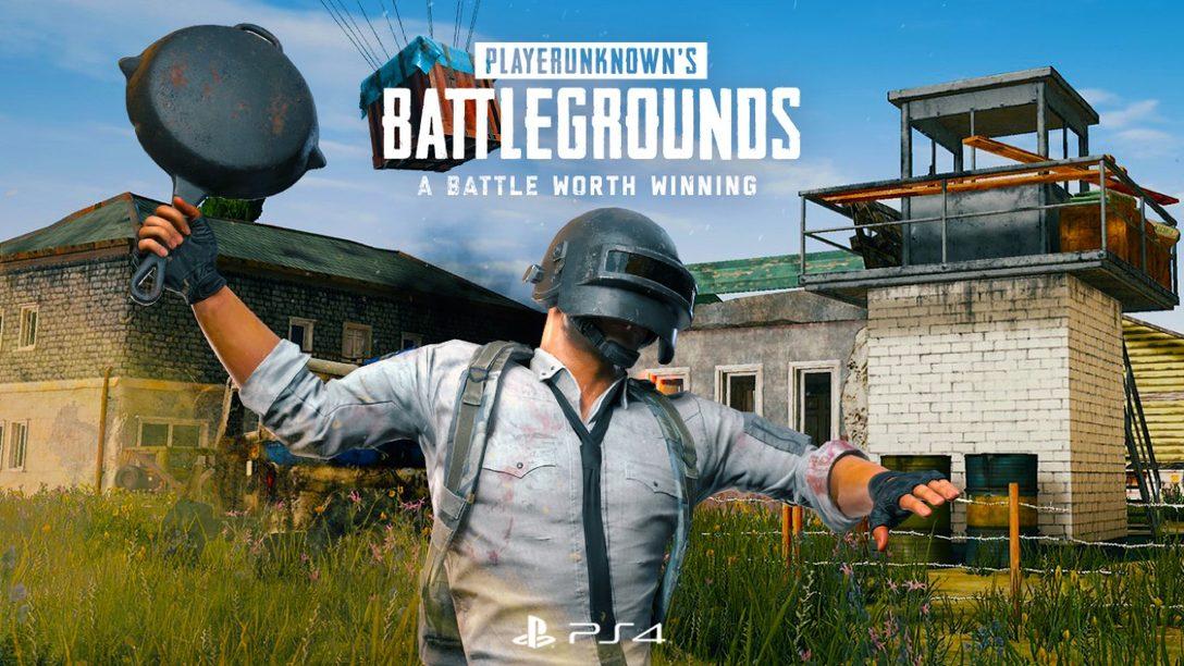PUBG se Lanza el 7 de diciembre con un Regalo Exclusivo de PlayStation