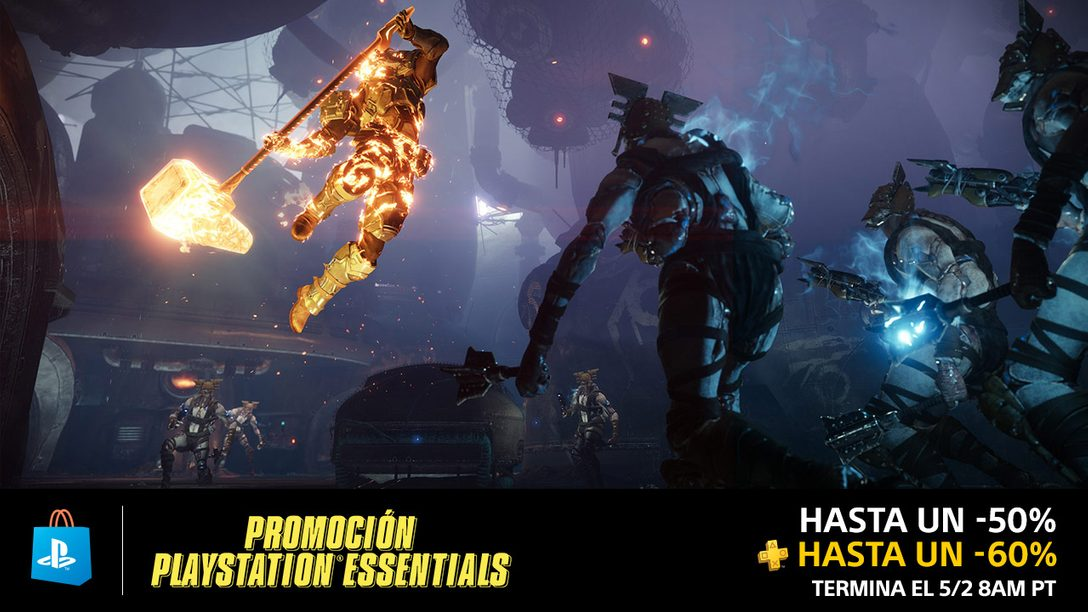La Promoción PlayStation Essentials ya Empezó en PS Store
