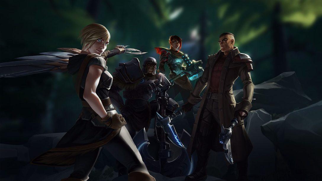 Dauntless, el RPG de Acción Free-to-Play Llega Mañana a PS4