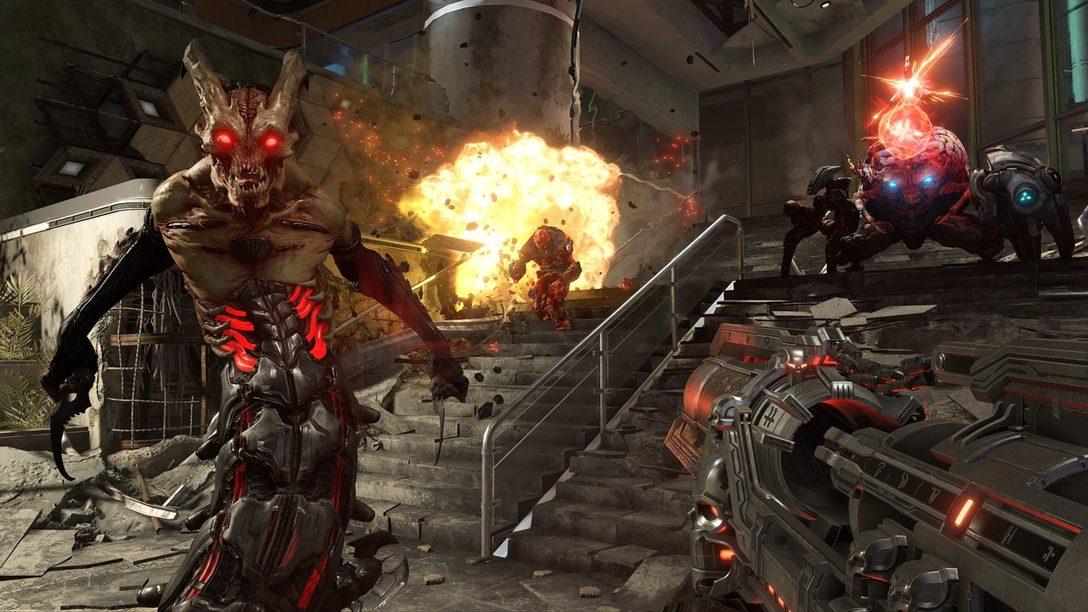 Conviértanse en un Mejor Asesino de Demonios con la Jugabilidad de Doom Eternal