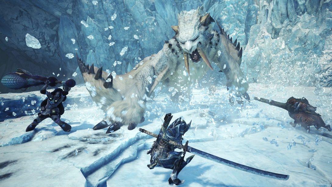 Notas del Cazador: 5 Nuevos Detalles Sobre Monster Hunter World: Iceborne