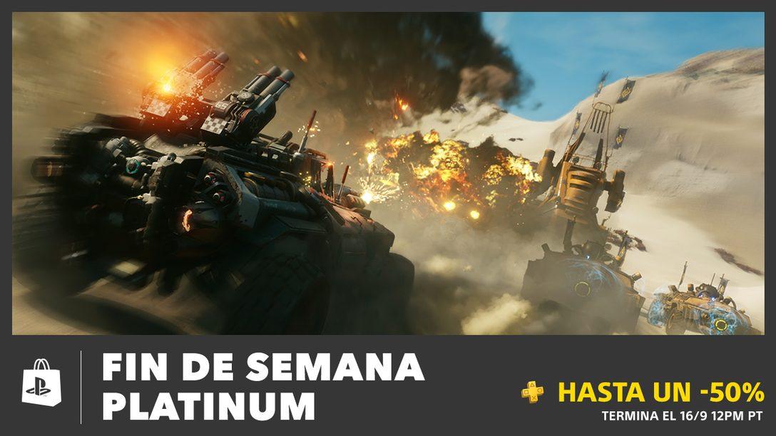 Fin de Semana Platinum Trae Descuentos de Hasta 50%
