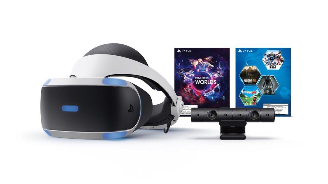 El 2019 PlayStation VR Mega Pack se Lanza Justo a Tiempo para las Festividades