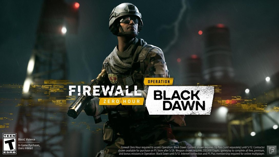 La Nueva Temporada de Firewall Zero Hour, Operation: Black Dawn, Estará Disponible Hoy