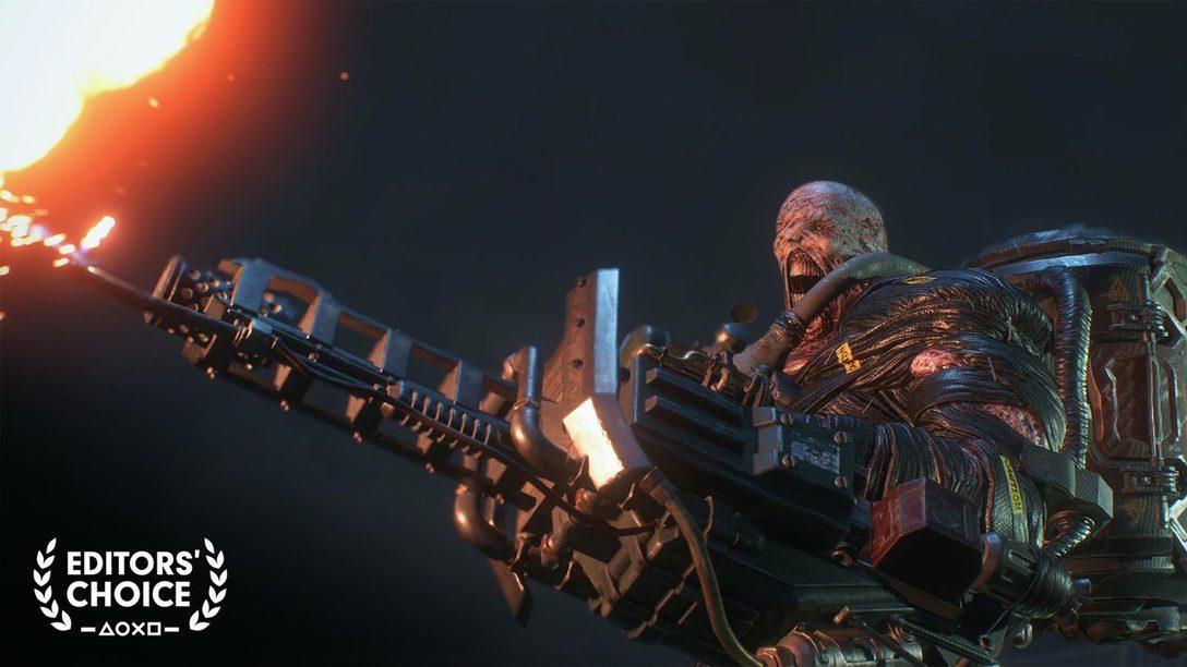 Editors' Choice: Terror de Alto Nivel con Resident Evil 3 & RE Resistance