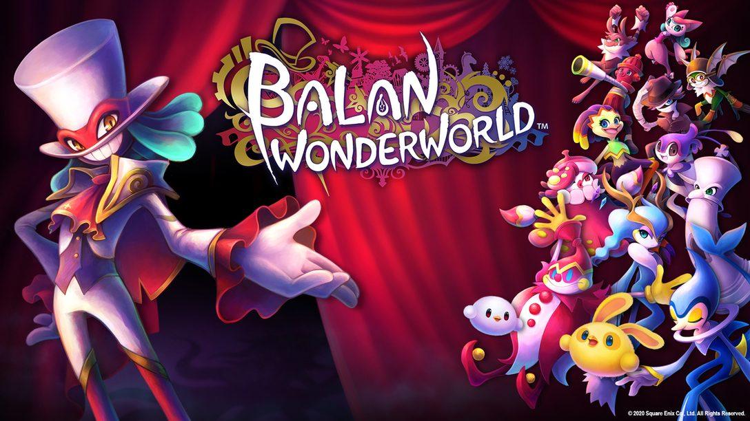 Yuji Naka te invita al maravilloso mundo de Balan Wonderworld
