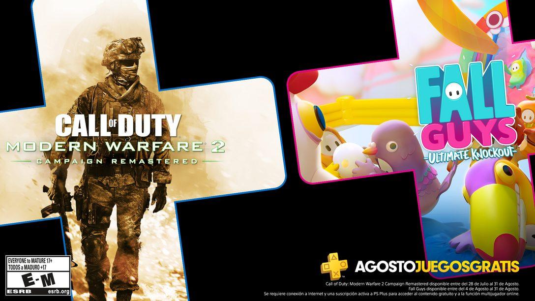Juegos de PS Plus para agosto