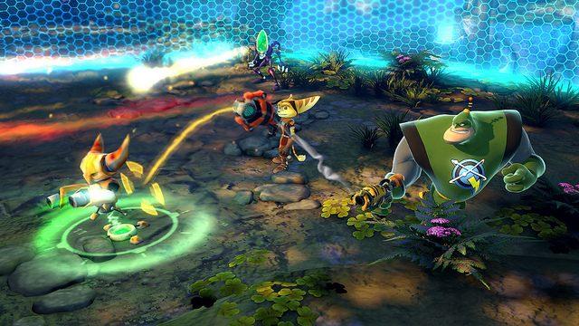 As Armas Especiais de Ratchet & Clank: All 4 One