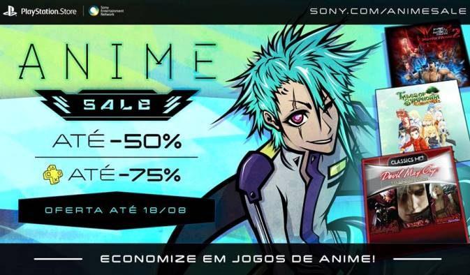 Anime Sale começa amanhã com descontos em games do gênero