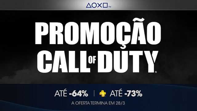 Call of Duty Chega Com Tudo às Promoções de Franquias