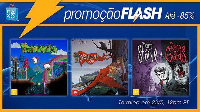 Promoção Flash: Descontos de até 85%