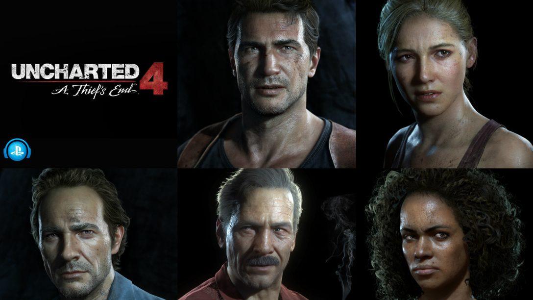 Naughty Dog Seleciona Playlists para Uncharted 4
