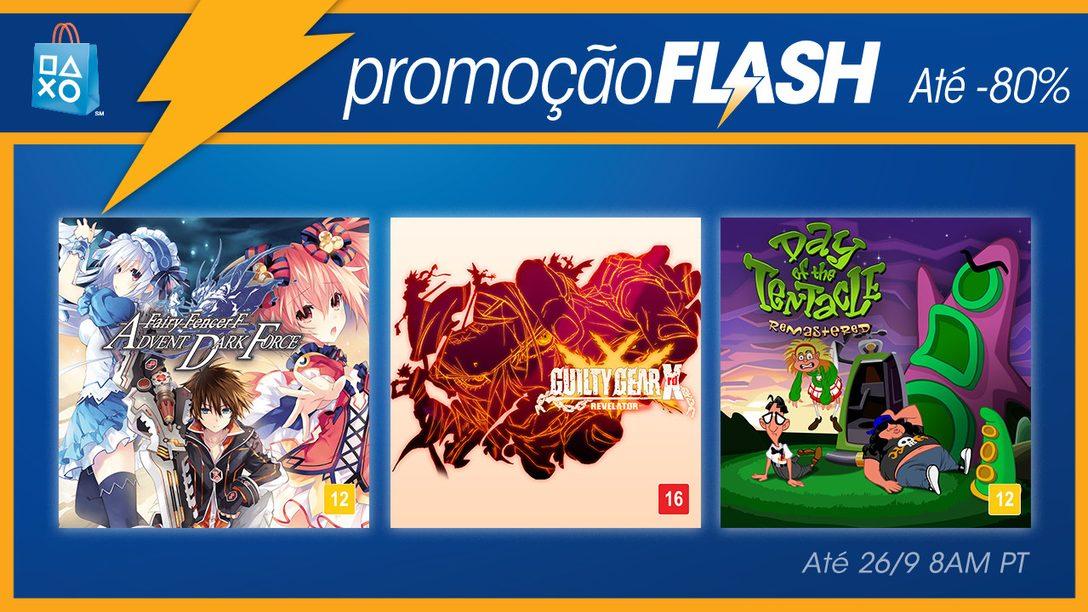 Promoção Flash Agora: Ofertas de Animação com Descontos de até 80%