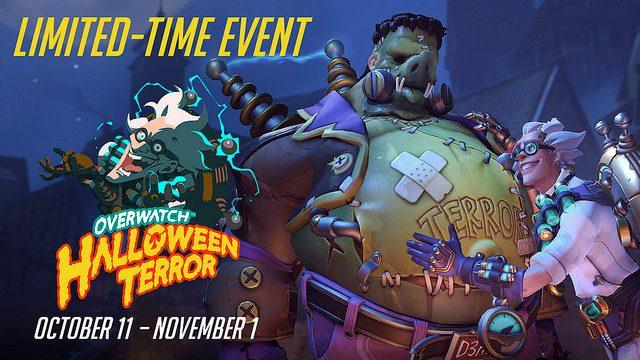 Overwatch Halloween Terror Começa Hoje