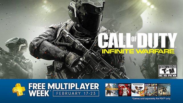 Semana de Multiplayer Gratuito no PS4 Começa em 17 de Fevereiro