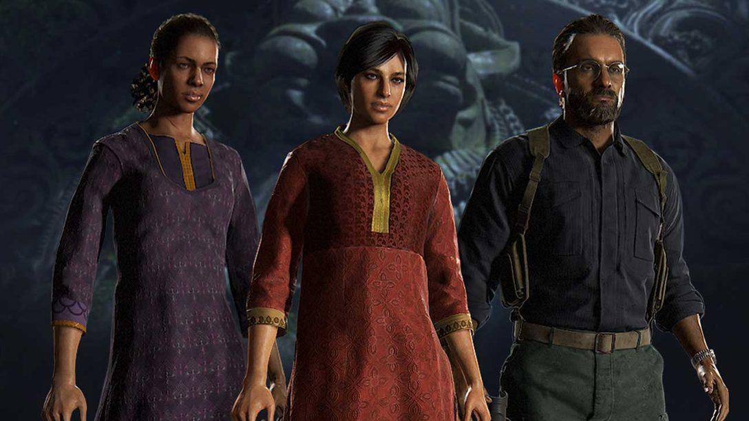 Atualização de Uncharted: The Lost Legacy Está Chegando ao Multiplayer de Uncharted 4
