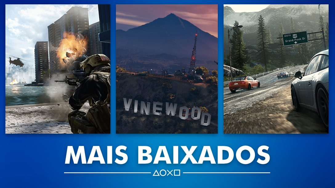 Os Jogos da PS Store Mais Baixados de Janeiro