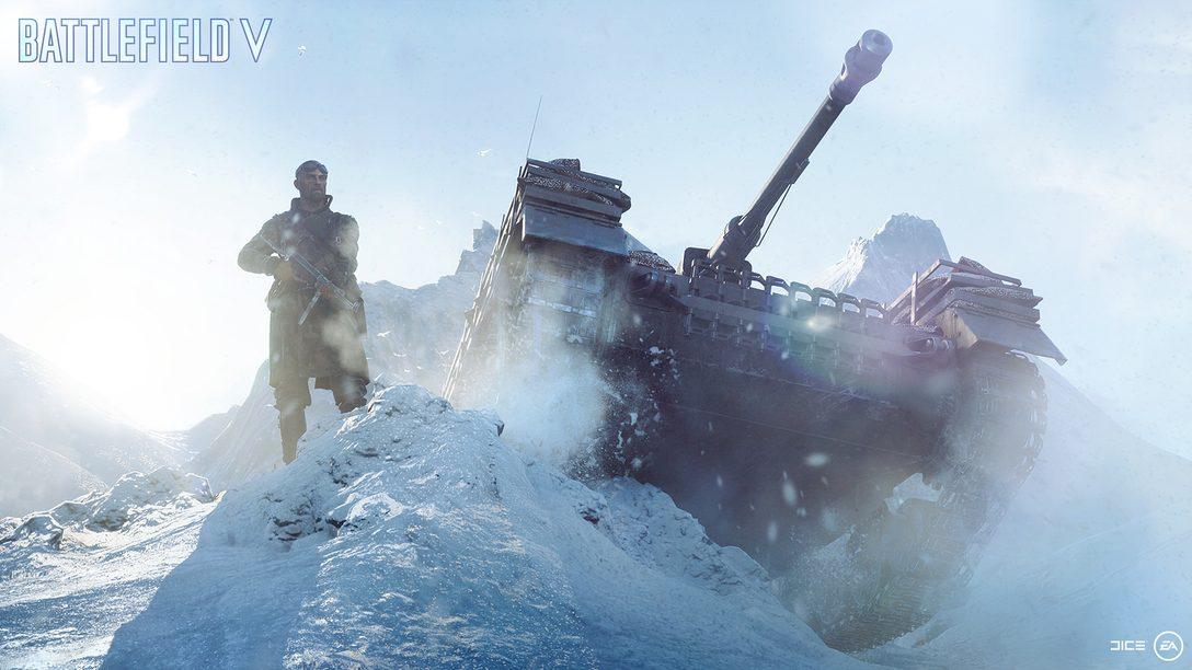 Grand Operations e Multiplayer em Battlefield V