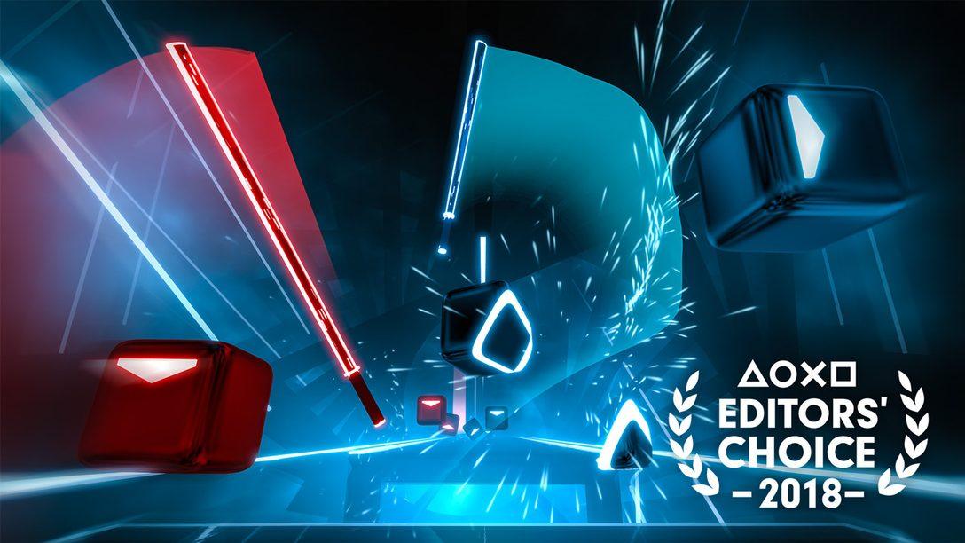 Escolha do Editor: Por que Beat Saber é um dos Melhores Jogos de 2018