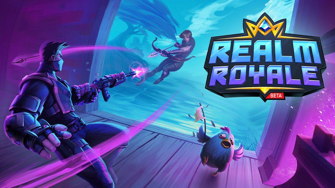 Realm Royale, Jogo Multiplayer Free-to-Play, Lança Beta Aberto para PS4